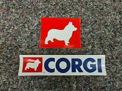 Pair Of Corgi Toys Logo Stickers  • 4.95£