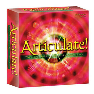 Articulate Fast Talking Description Board Game Is Very Interesting Family Games • 17.99£