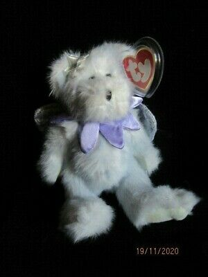 Ty Beanies - Attic Treasures Demetria - The Angel Bear Retired With Tags • 9.99£