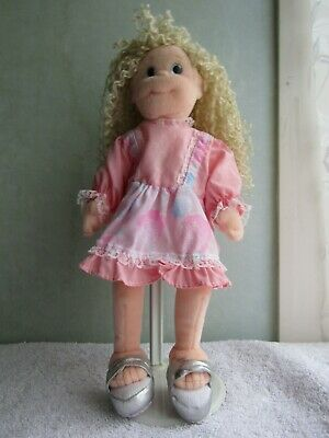 Pre Loved Ty Beanie Bopper Doll Named  Sassy Star  With Body Tag Dated 2001 • 1.25£
