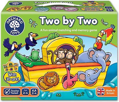 Orchard Toys TWO BY TWO Educational Game Puzzle BN • 12.51£
