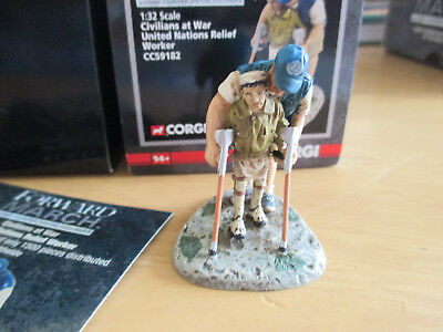 Corgi Forward March 1:32  CC59182 United Nations Relief Worker Civilians At War  • 2.75£