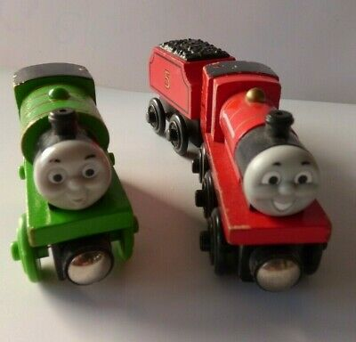 BRIO TRAINS - James With Tender & Percy • 4£