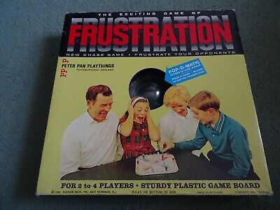 FRUSTRATION - Vintage Game (c.1965) By Peter Pan. Superb Condition. • 0.99£