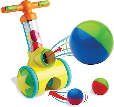 TOMY  Pic And Pop Walker Toy With Ball Launcher And Collector • 10£