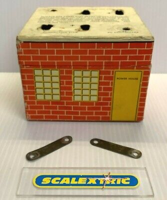 SCALEXTRIC Tri-ang 1950's / 1960's BATTERY BOX HOUSE (LOVELY) EX TINPLATE SETS • 4.99£