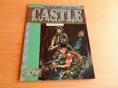TWILIGHT:2000 2nd Edition RPG SUPPLEMENT 2014 – CASTLE BY THE SEA     • 17.49£