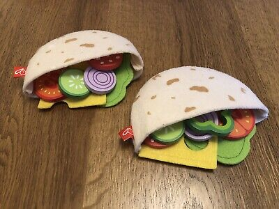Hape Pita Bread Pocket Lunch Role Play  • 2.50£