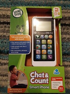 Chart,Count Leap Frog Phone • 10£