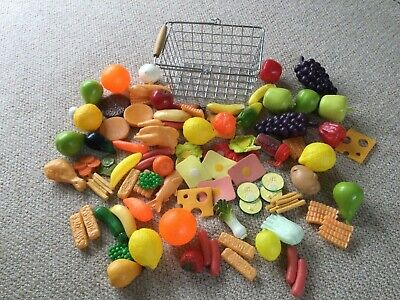 Vintage Play Food, Fruit, Vegetables For Kitchens, Shops, Role Play And Basket • 5.50£