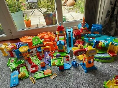 Huge Vtech Toot Toot Drivers Bundle 20+ Cars And Track Parts Job Lot • 15£