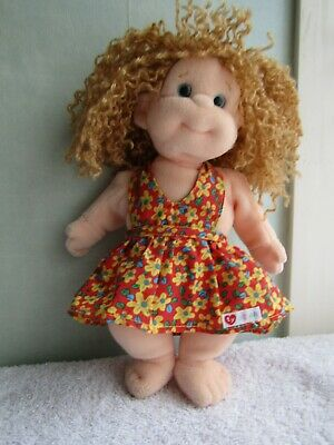 Pre Loved Ty Beanie Baby / Toddler Doll Named Princess With Body Tag Dated 2000 • 1.30£