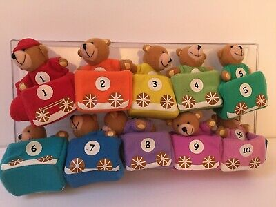 Teddy Counting Toy Early Years Numeracy • 4.20£