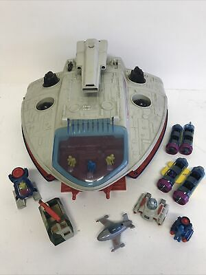 Manta Force Command Space Ship - Bluebird Toys (1986) With Accessories • 24.99£