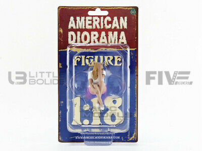American Diorama 1/18 - Figurines Car Girl In Tees - Madee - 38239 • 11.56£