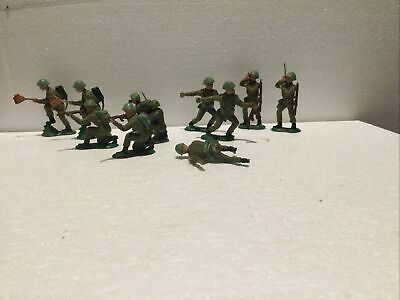 Crescent Toy Soldiers X10 & Man Down  • 4.95£