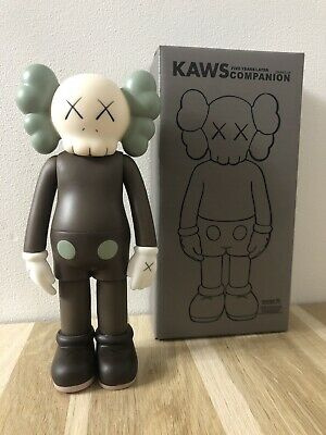 KAWS COMPANION Open 8  PVC Action Figure Toy Brown • 50£