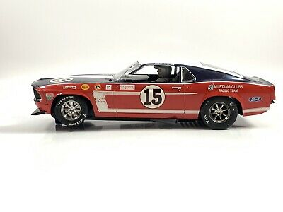 Scalextric C2401 Ford Boss Mustang 69 No 15 Unboxed • 18£