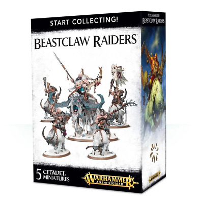 Start Collecting! Beastclaw Raiders For Warhammer Age Of Sigmar Ogor Mawtribes • 41.99£