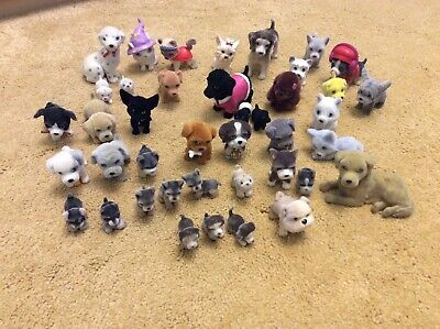 Collection Of Puppy In My Pocket Figures - MEG - Kitty - Jungle • 8.95£