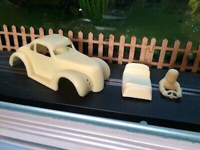 Scalextric Slot Car 1/32 Scale 1937 Chevy Coupe Hotrod Bodyshell Kit. • 5£