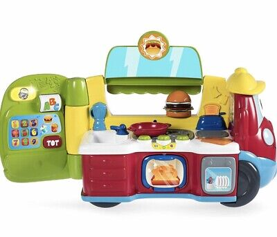 Chicco Food Truck French English Toy Van Car NEW • 12£