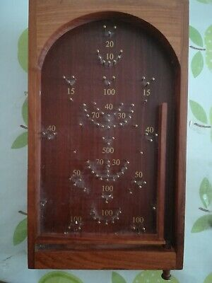 Vintage Table Top Bagatelle Game Small Size  Board Family Fun  • 9.95£