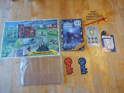 Adventure Game Book Ghostly Towers By Stephen Thraves 100% Complete • 10£