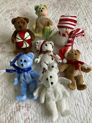 Ty Beanie Babies - Holiday Bear Bundle - 1997,1998,1999 And Other's. • 6.99£