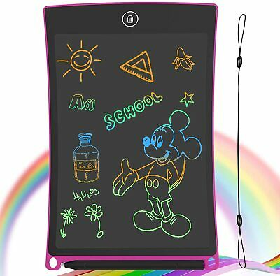 GUYUCOM LCD Writing Tablet, 8.5 Inch Drawing Board Erasable Doodle Board Pink  • 13.49£