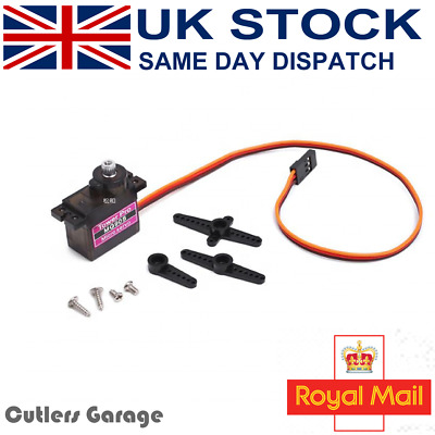 Micro Servo Tower Pro MG90S 9g Servo For RC Car Helicopter Plane Boat • 3.99£