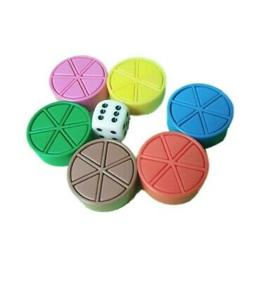 Trivial Pursuit Scoring Wedges, Tokens Set Movers And Pieces And Dice  • 3.99£