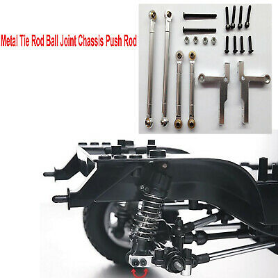 Metal Tie Rod Ball Joint Chassis Push For Tamiya CC01 Crawler Car Upgrade Access • 15.18£