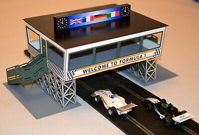 1:32 Scale Control Centre Over Track Kit For Scalextric/similar Static Layouts • 35£