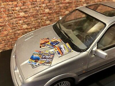 1/18 Ford Garage Diorama Car Magazines  Otto Minichamps Norev • 15£