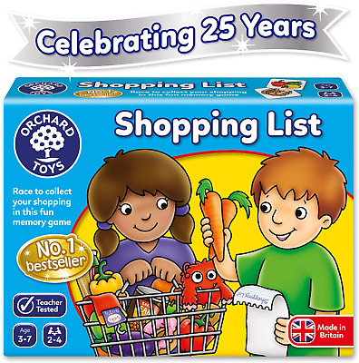 Orchard Toys Shopping List Game • 6.39£