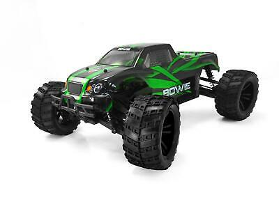 Himoto Bowie 1/10 4WD RC Monster Truck - Brushed RTR  - Green • 114.95£