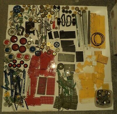 Vintage Meccano Job Lot With Instructions • 25£