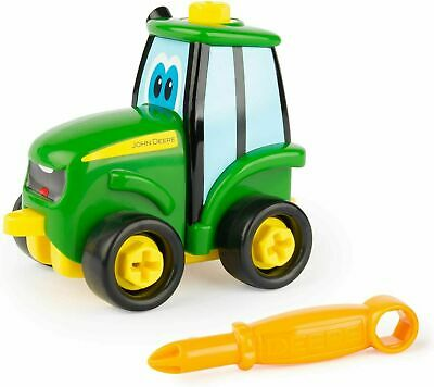 Tomy John Deere Build A Buddy Johnny Tractor Screw Driver Fun Children Toy • 9.99£