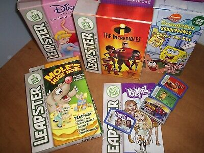Leapster Games Bundle • 4.50£