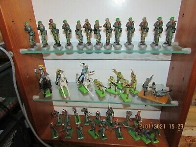 Vintage Britains Deetail Conversions Wwii Acw Royal Marines Job Lot 1/32 Scale • 24£