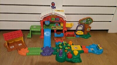 Baby Toot-toot Animals Farm Multi-colored By VTech With Cow Horse Pig • 15£