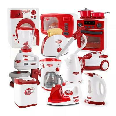 Kids Play Kitchen Accessories Home Appliance Machine Role Pretend Play Toy Gift • 9.99£