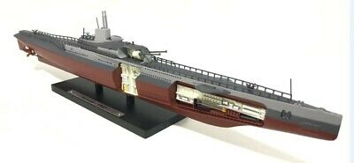 WW11 Submarine Model Surcouf French Die-cast Model Submarine 1:350 Scale  • 19£