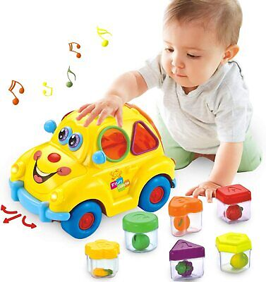 HOMOFY Musical Car Toy Fruit Shape Early Education 6-18 Mouths Baby Toy...  • 22.99£