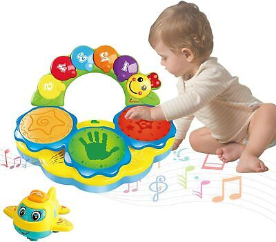 Portable Musical Drums Piano Instrument Baby Toys 6 To 12 Months...  • 26.79£