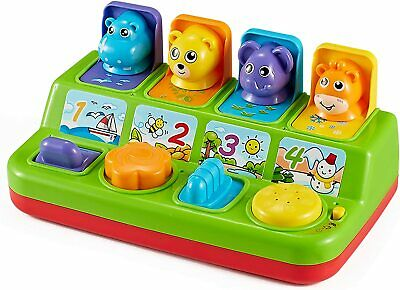 Think Gizmos Musical Pop Up Animal Toy For Toddlers - Interactive Musical...  • 24.19£