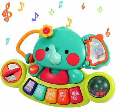EARSOON Toddlers Electronic Early Education Piano, Elephant Musical Keyboard...  • 22.99£