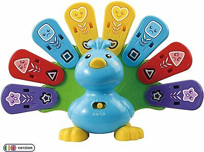 VTech Feathers & Feelings Peacock, Educational Learning Toys For Multicolor  • 29.09£