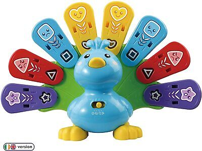 VTech Feathers & Feelings Peacock, Educational Learning Toys For Multicolor  • 26.79£